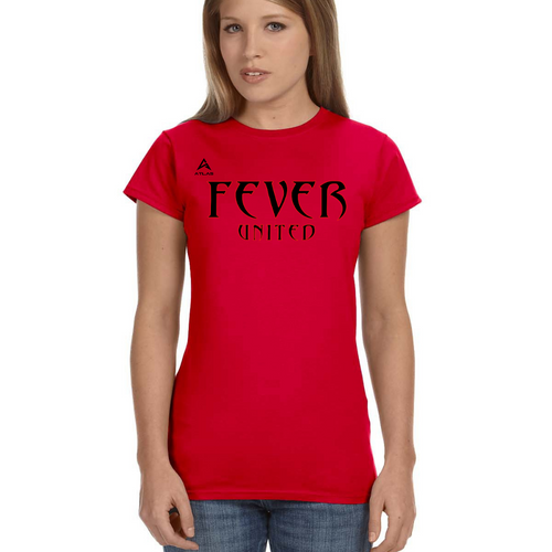 Fever United Short-Sleeve Fitted T-Shirt (Red)