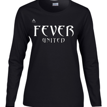 Load image into Gallery viewer, Fever United Long-Sleeve T-Shirt (Black)