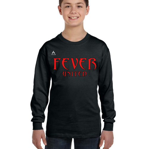 Fever United Long-Sleeve T-Shirt (Black)