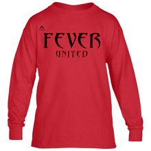 Load image into Gallery viewer, Fever United Long-Sleeve T-Shirt (Red)