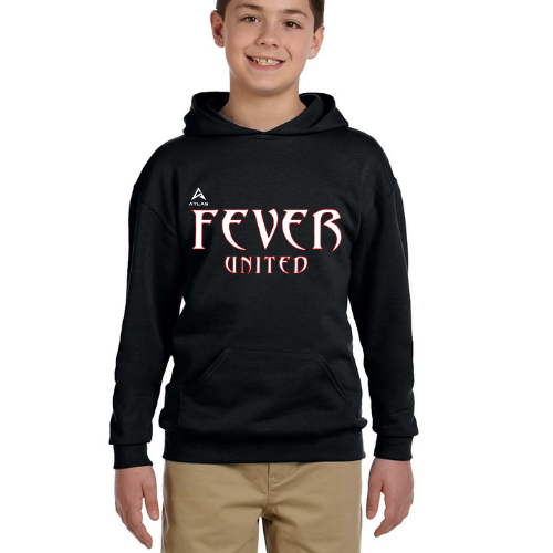 Fever United Fleece Pullover w/Hood (Black)
