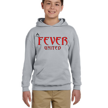 Load image into Gallery viewer, Fever United Fleece Pullover w/Hood (Oxford Gray)