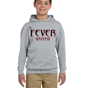 Fever United Fleece Pullover w/Hood (Oxford Gray)