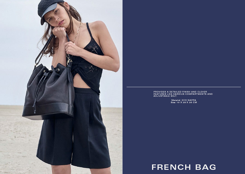 EARLY LOOKBOOK, FRENCH BAG, THIS IS EARLY