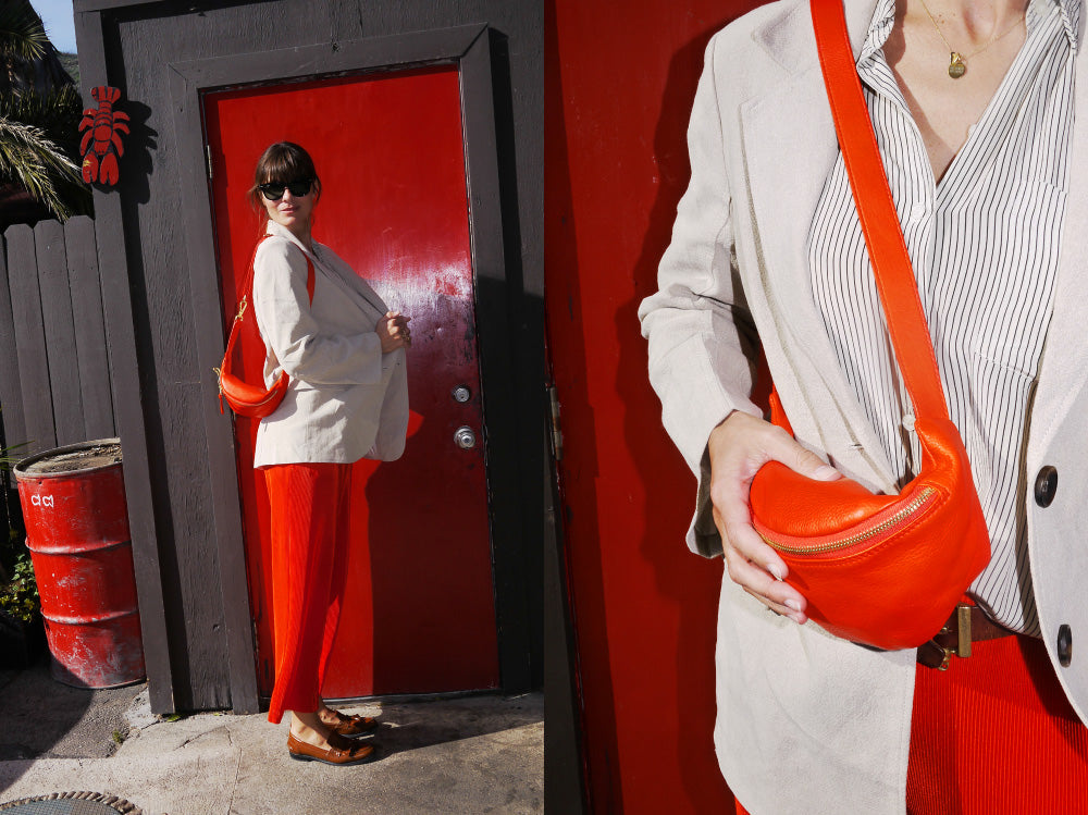 LOTTERMANN & FUENTES IN LA // EARLY CLASSIC HIPBAG RED