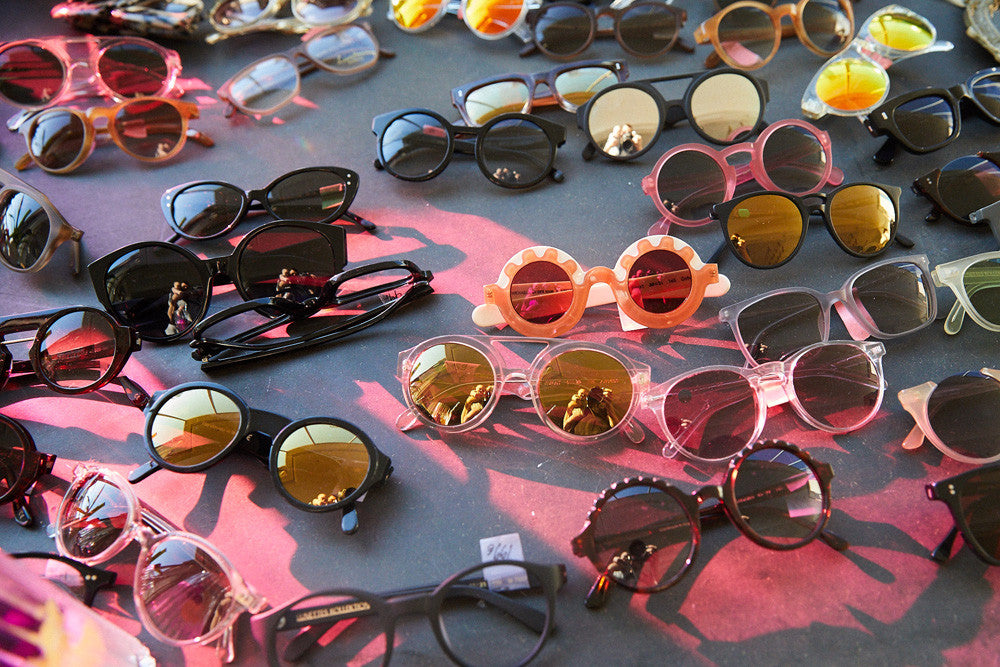 this is early x lunettes Kollektion sample sale frankfurt