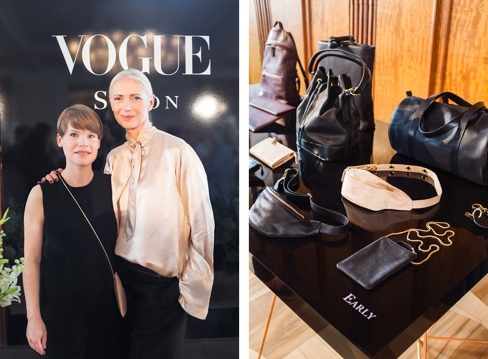 EARLY, Vogue Salon 2016, Christiane Arp, Valerie Sietzy, EARLY BAGS, Sustainable Design, Eco Fashion