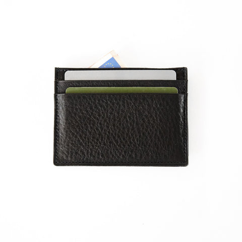 CARD CASE | BLACK NAPPA