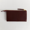 FINE PURSE, WINE RED, ECO EDITION, OLIVE TANNED, MADE IN GERMANY, EARLY, SUSTAINABLE DESIGN, FAIR FASHION