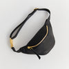 EARLY MINI HIPBAG, KIDS, FAIR FASHION, MADE IN GERMANY, CONSCIOUS DESIGN, ECO LEATHER, OLIVE TANNED, BLACK, SUSTAINABLE DESIGN