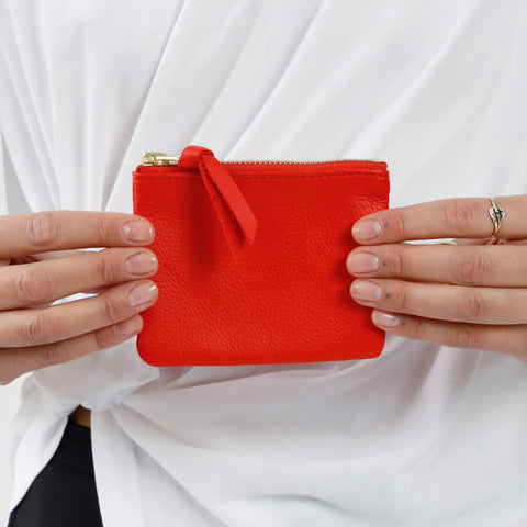 MINI POUCH | RED