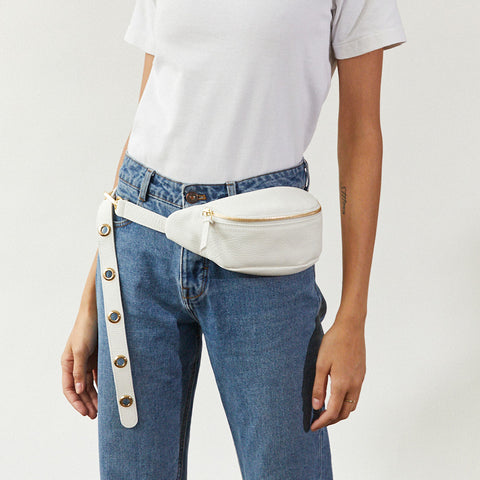 SLIM HIPBAG | WHITE