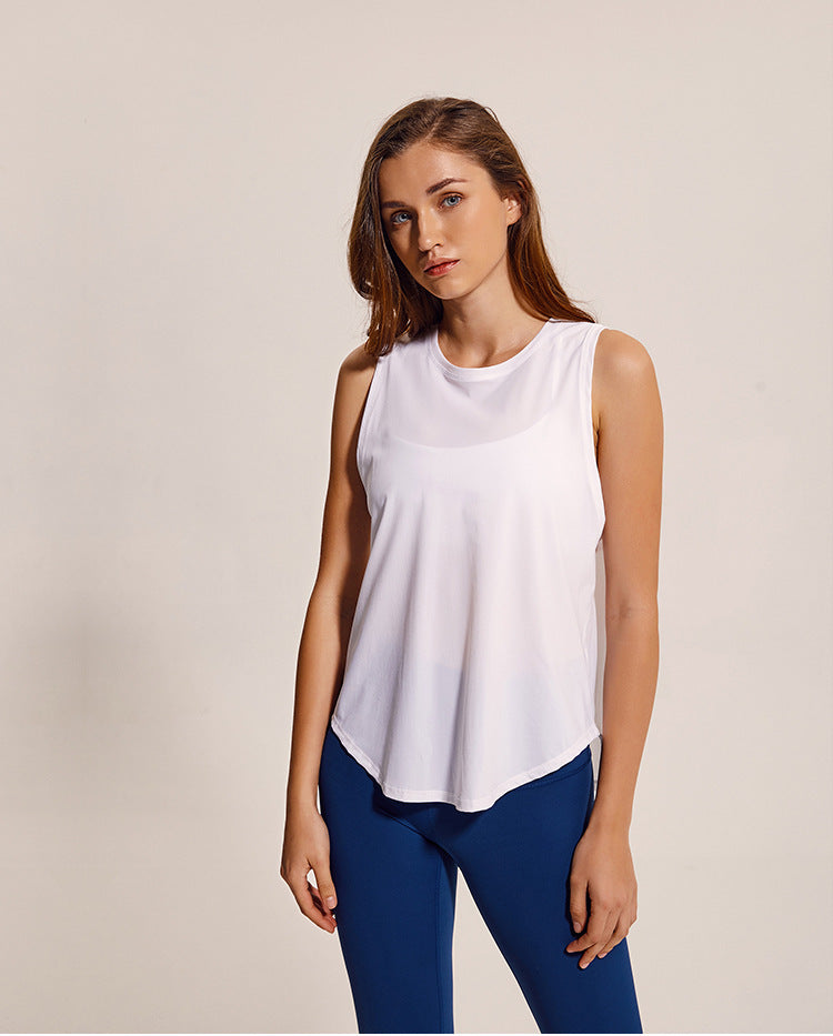 Energy Tank Top - White