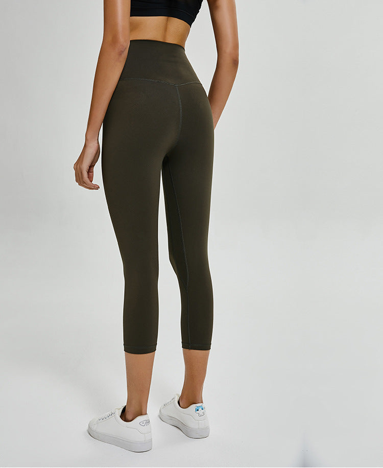 Seamless Capri -  Forest Green