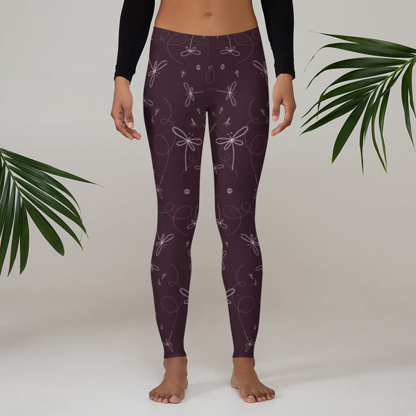 Dragonfly Printed Leggings