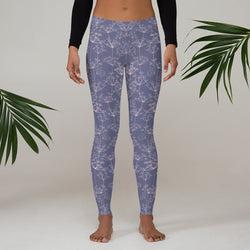 Dainty Flora Printed Leggings
