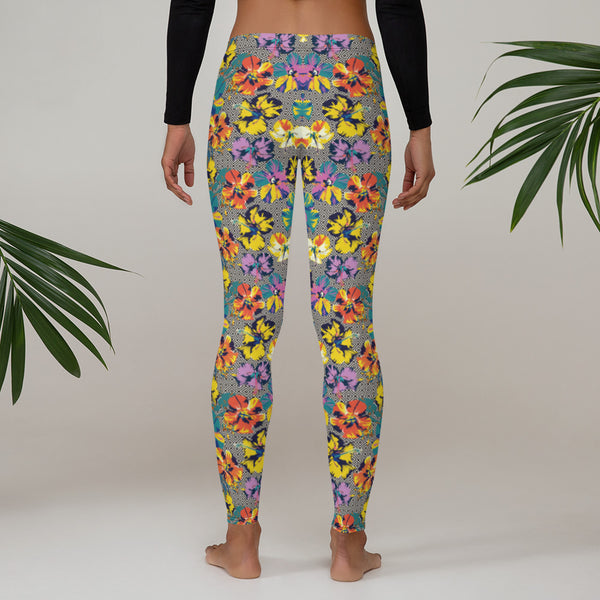 Tropical Dream Printed Leggings