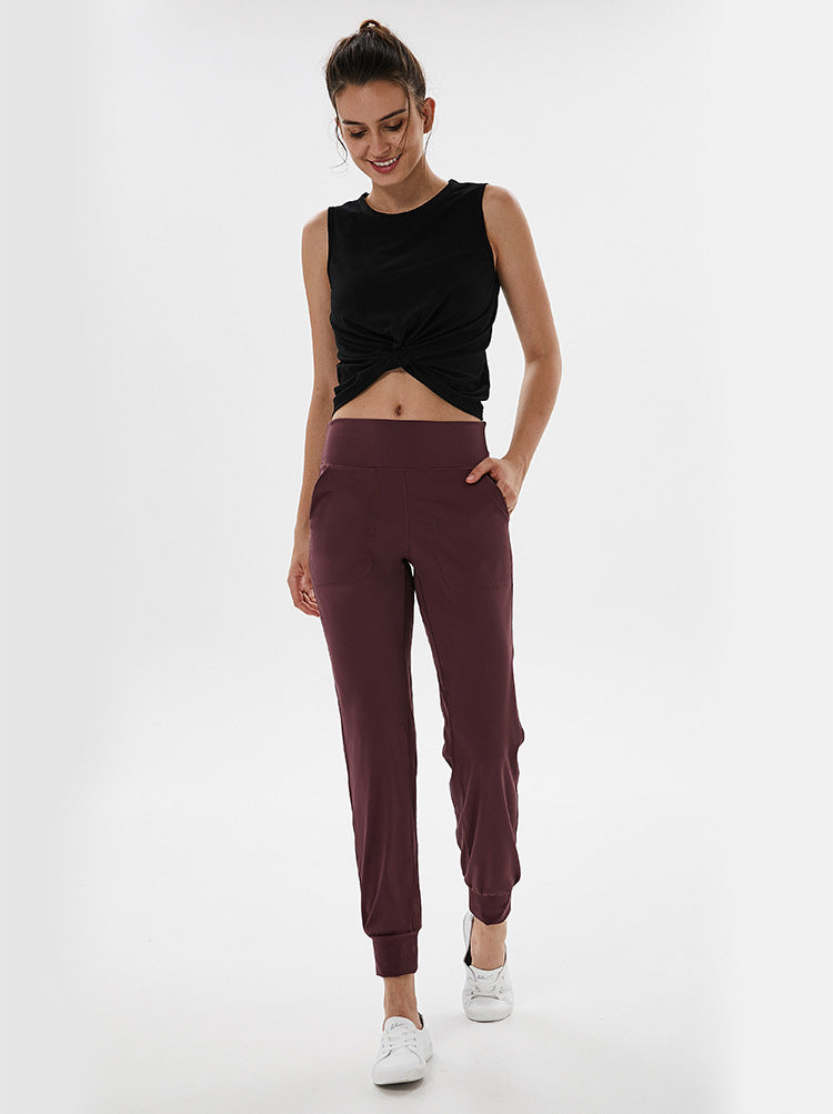Bliss Joggers - Wine