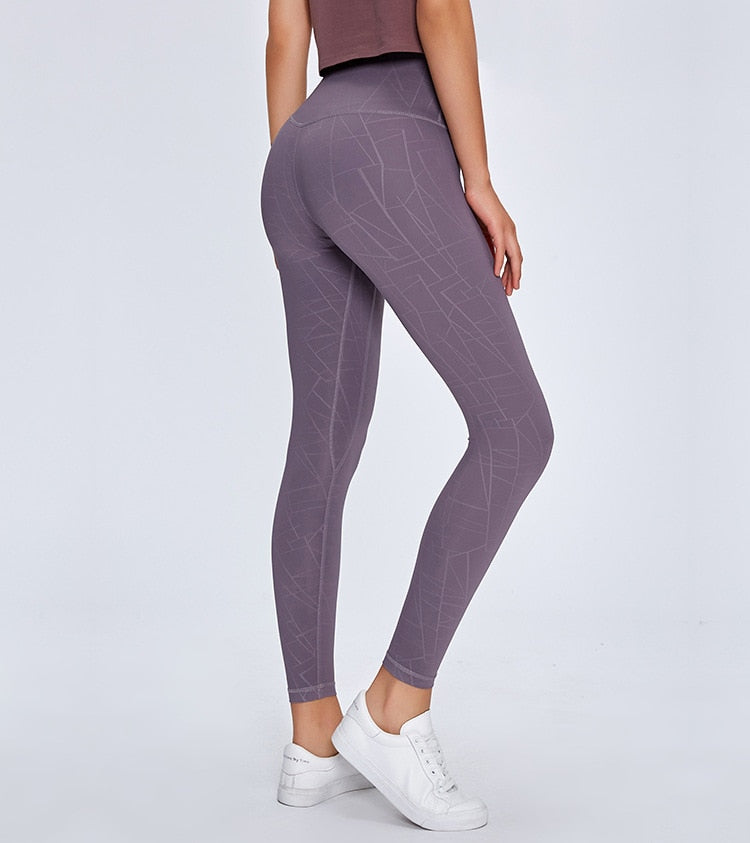 Seamless Geometric Leggings