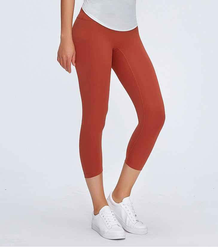 Seamless Anti Camel Toe Capris