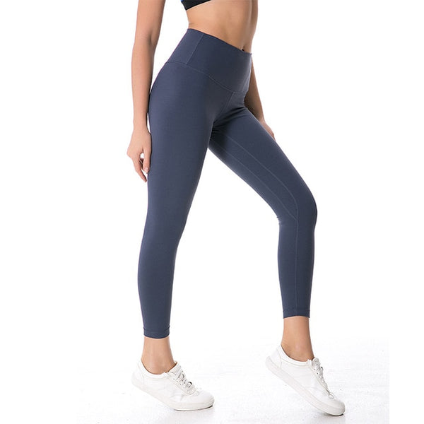 Seamless Leggings - Lilac Grey