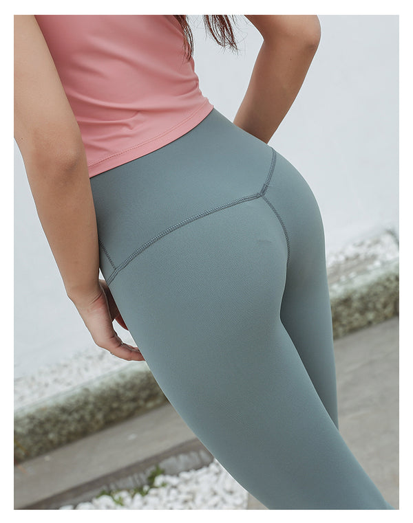 Seamless Leggings - Frosted Pine