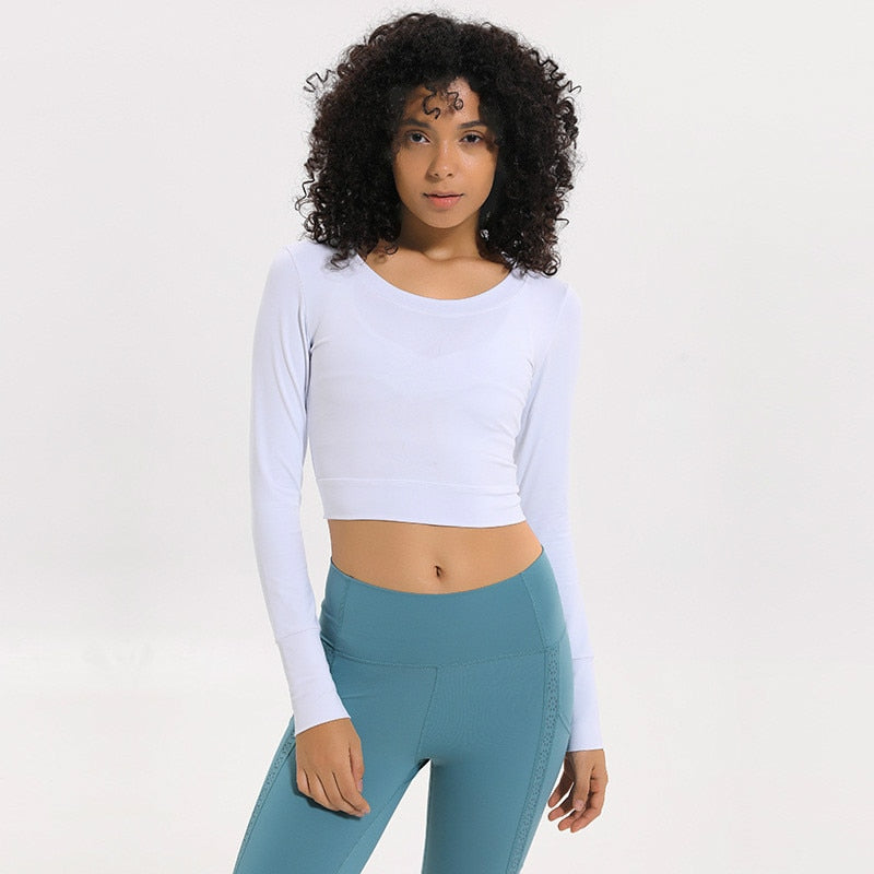 Dream Crop Top - White