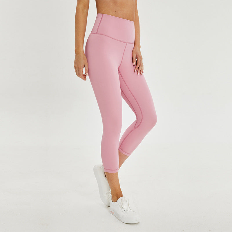 Seamless Capri - Rose Quartz
