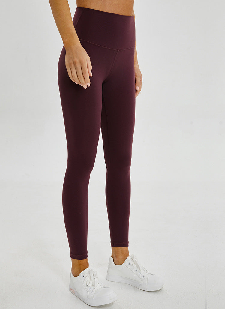 Seamless Leggings - Wine