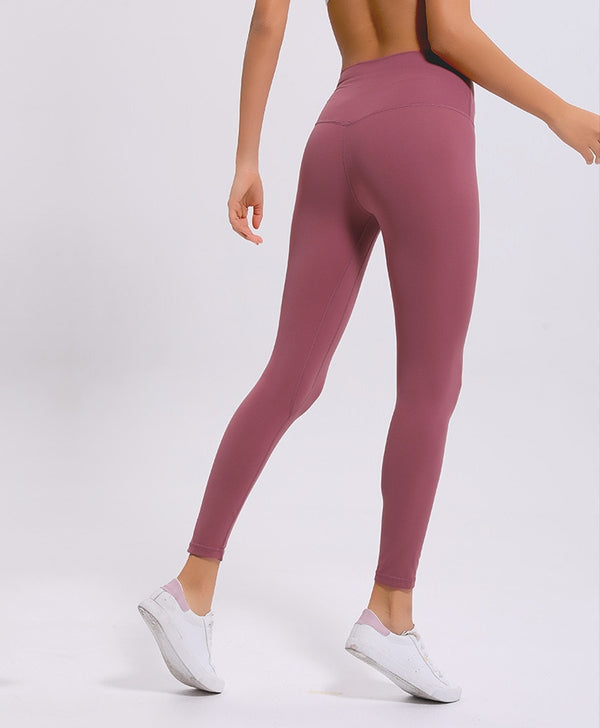Seamless Leggings - Dusty Rose