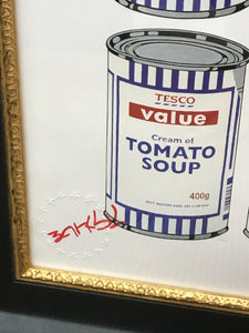 BANKSY (1974), Tesco Value Cream of Tomato Soup Cans, 2006.