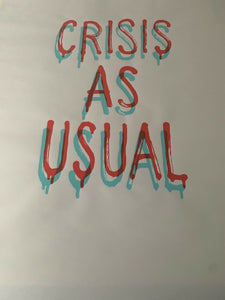 BANKSY (1974), Crisis as usual 2019, sérigraphie 3D pour GDP