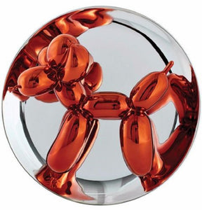 Jeff KOONS (1955) Balloon dog orange, 2015.