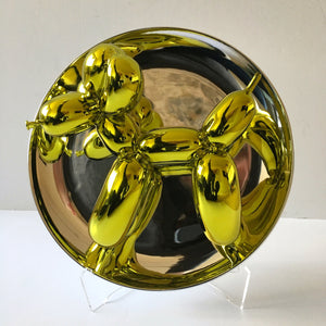 Jeff KOONS (1955) Balloon dog jaune, 2015.