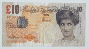 BANKSY (1974) Difaced tenner 2004.