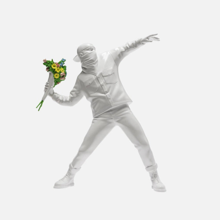 Banksy - flowers thrower
