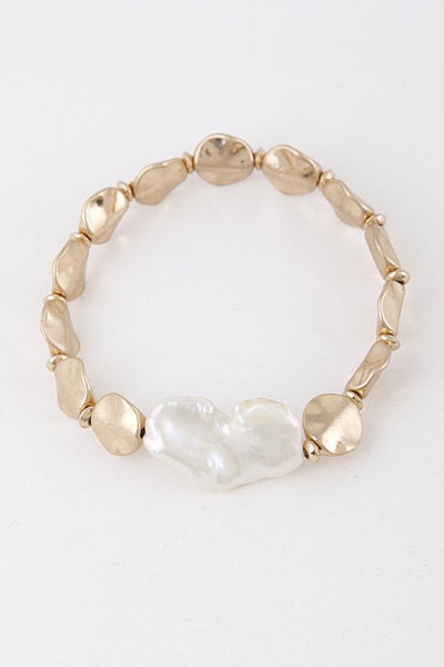 Gold Stone Style Fashion Bracelet