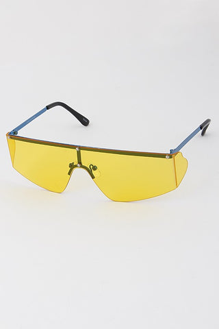 Side Lens Frame-less Sunglasses