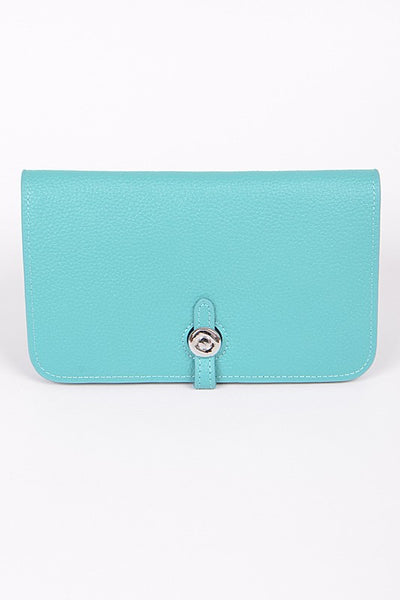 Mint Simple Leather Wallet