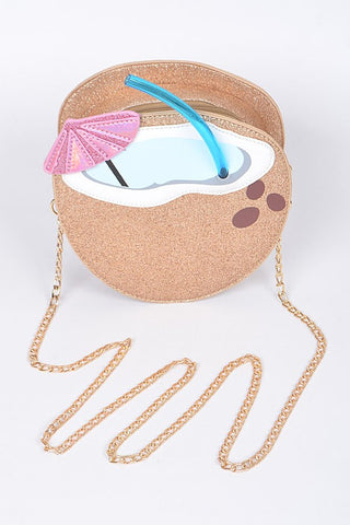Coconut Beach Time Clutch