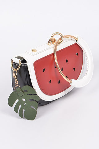Watermelon with Leaf Clutch