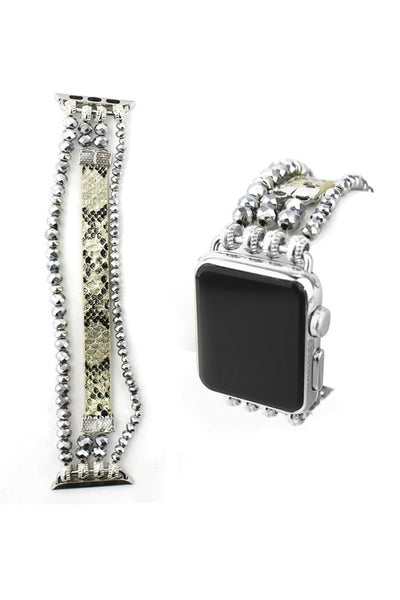 Silver Iwatch Accessory Band