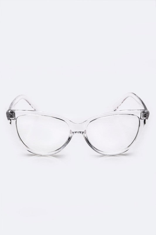 9b1516a8346 Clear Cat Eye Glasses - Nofashiondeadlines ...