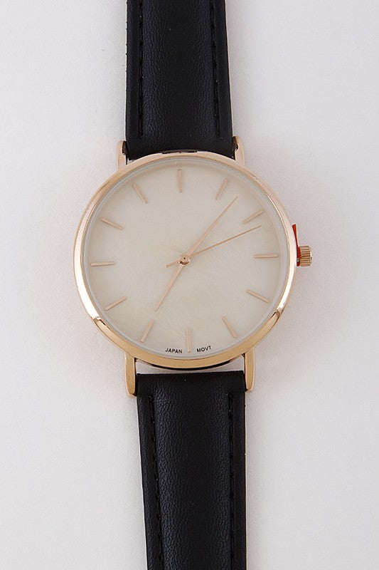 Casual Yet Simple Watch - Nofashiondeadlines