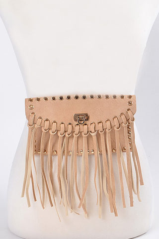 Fringed Daily Fanny Pack - Nofashiondeadlines