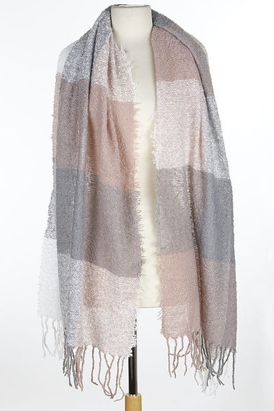 Pink Multi Use Wrap Scarf