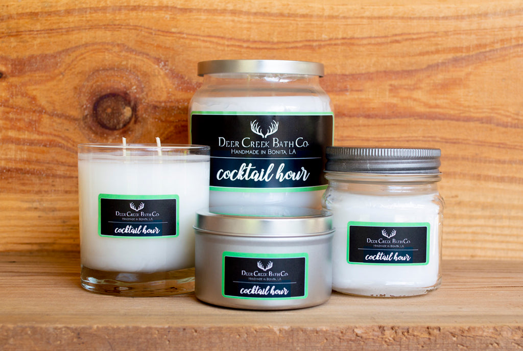 Cocktail Hour Candles and Wax Melts