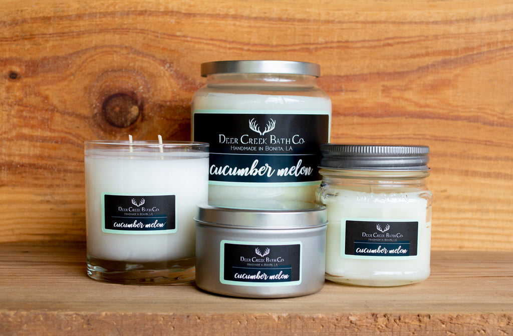 Cucumber Melon Candles and Wax Melts