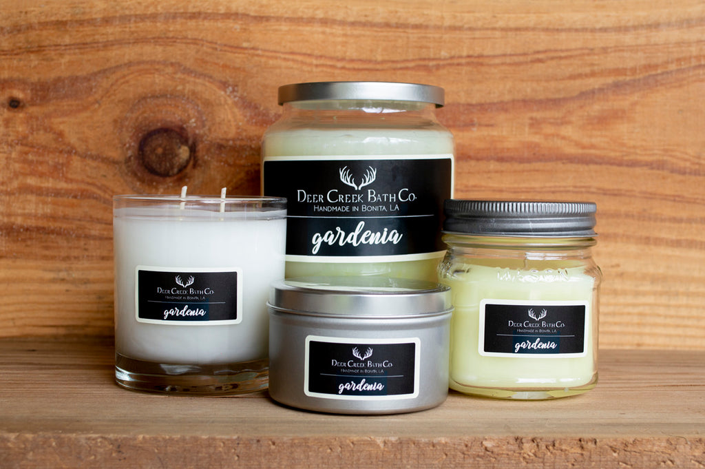 Gardenia Candles and Wax Melts