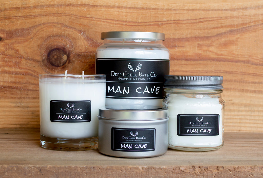 Man Cave Candles and Wax Melts